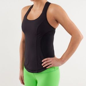 Lululemon Women's Cardio Kick Tank Black Size 6